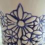 bloemen blauw detail