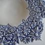 schaaltje kl.bloemen detail blauw